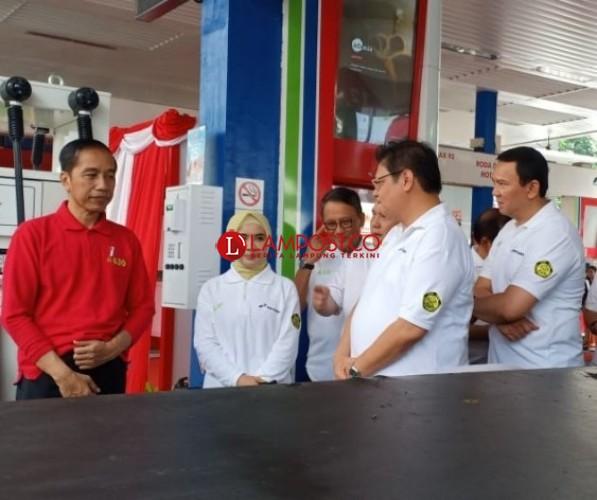 Presiden Jokowi Luncurkan Kewajiban B30