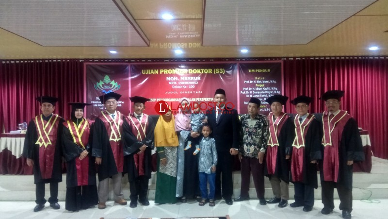 Lulus Sidang Doktoral, Masrul akan Terapkan Disertasinya pada Dunia Pendidikan