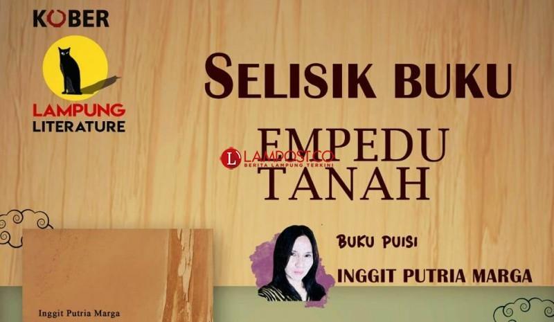 Lampung Literature Selisik Buku Berjudul Empedu Tanah