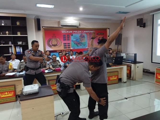 Polda Lampung Gelar Operasi Cempaka Krakatau 2020