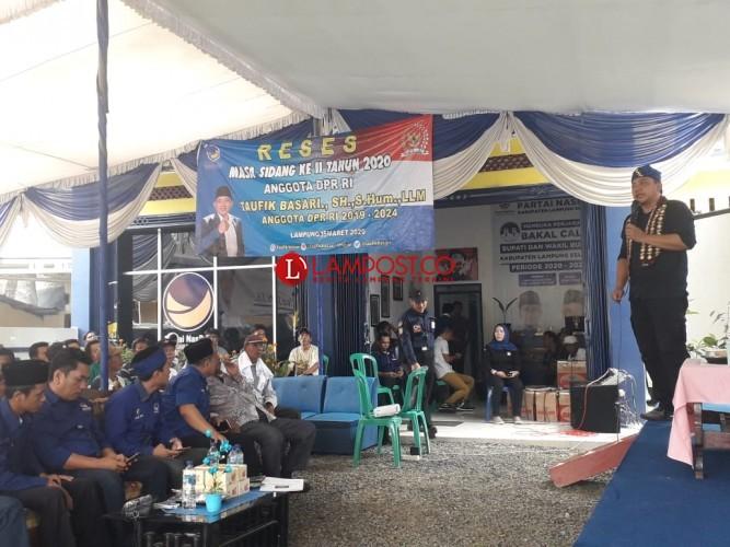 Taufik Basari Dorong Lampung Jadi Lumbung Pangan Nasional