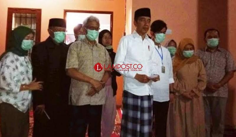 Presiden Jokowi Bersama Ibu Negara Tiba di Solo