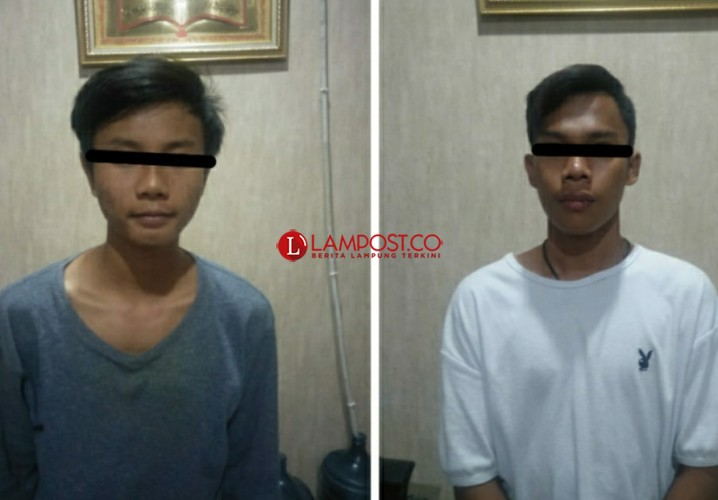 Polisi Gulung Dua Pelaku Curanmor di Bandar Lampung