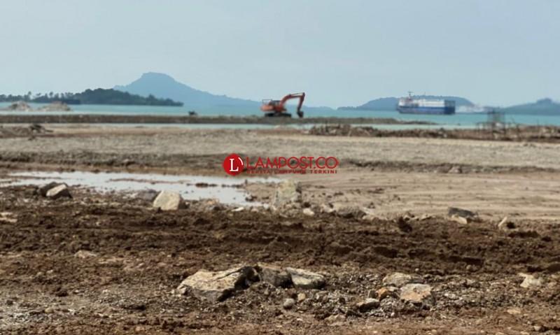 PT HK dan ITDC Sayangkan Kegiatan Reklamasi di Bakauheni