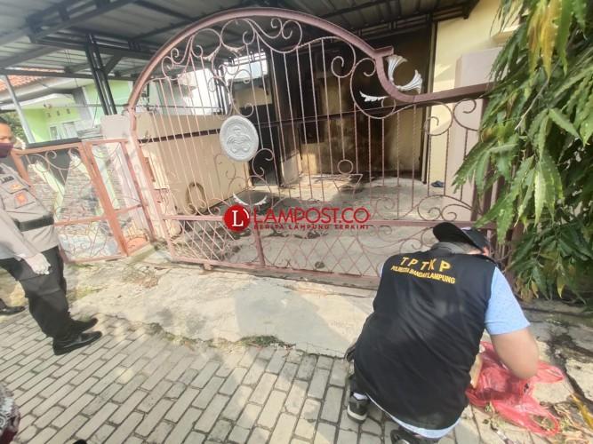 Bom Molotov Hampir Hanguskan Rumah Pegawai PN Tanjungkarang