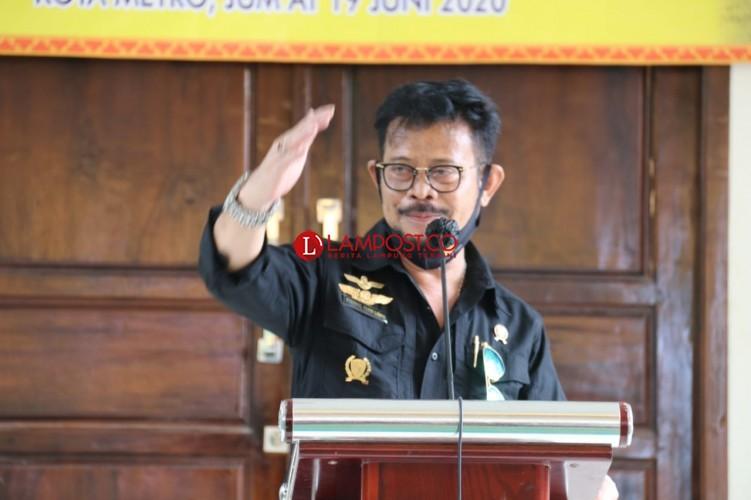 Lampung Sentral Kekuatan Pangan Nasional