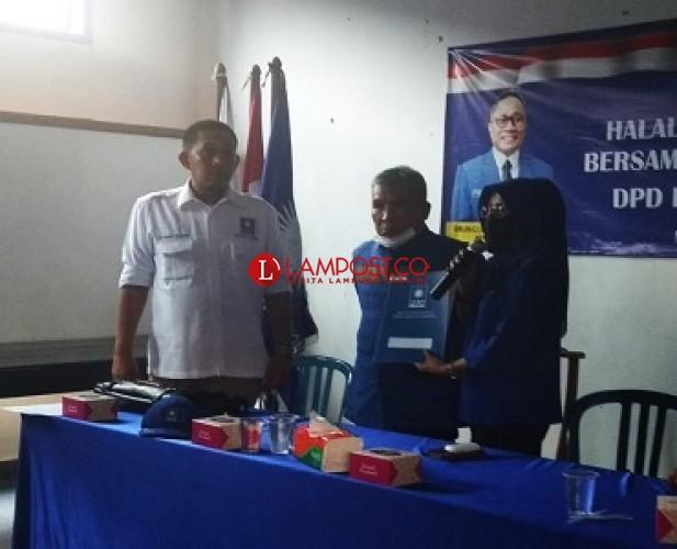 Plt Ketua PAN Lampung Permainkan Balonkada dan Kader