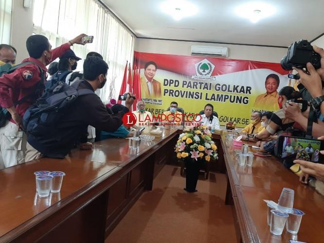 Golkar Umumkan 8 Jagoannya di Pilkada Lampung