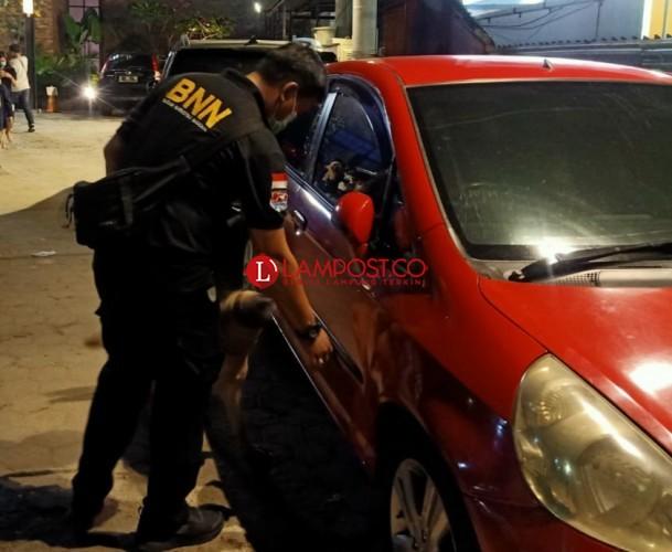 Razia Hiburan Malam di Telukbetung, BNN Dapati Pengunjung Positif Narkoba