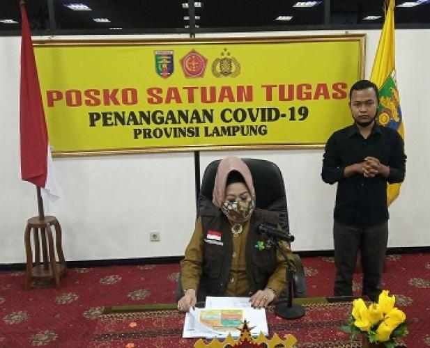 16 Kasus Baru di Lampung Hasil <i>Tracing</i> 3 Pasien