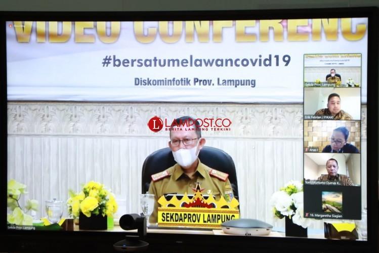 KPK Bahas Layanan Pengaduan Korupsi Terintegrasi untuk Masyarakat Lampung