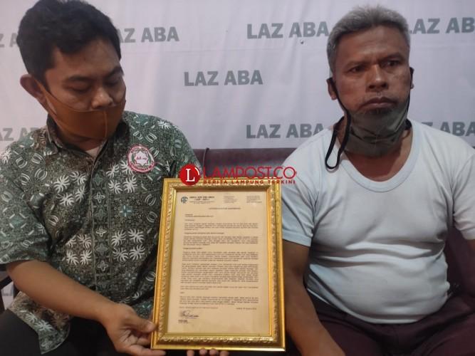 LAZ ABA Bantah Mendanai Teroris dengan Kotak Amal