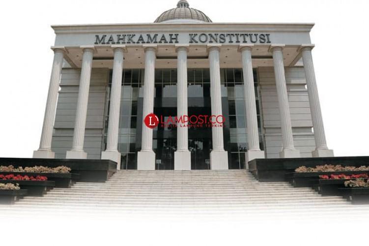 5 Paslon di Pilkada 4 Kabupaten/Kota se-Lampung Ajukan Gugatan ke MK