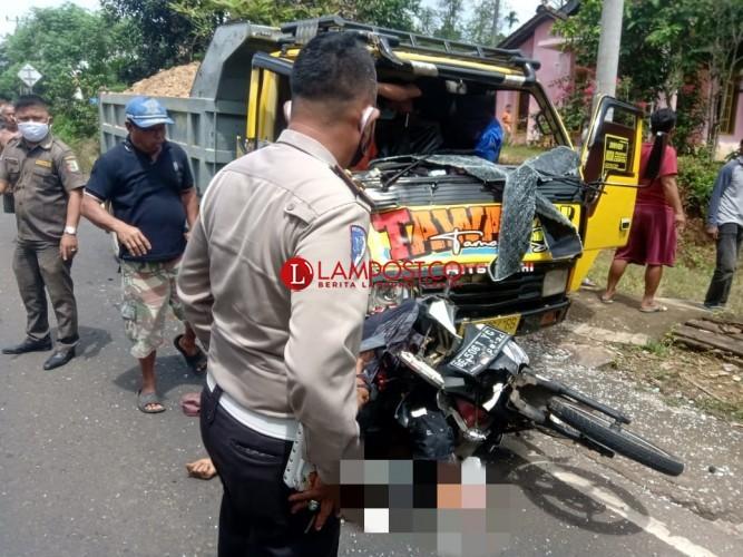 Kecelakaan di Bernung Tewaskan Dua Pengendara Motor