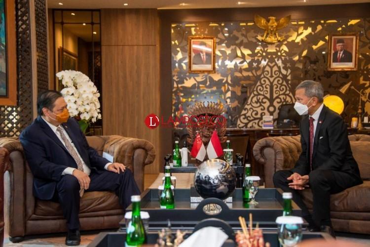 Singapura Lanjutkan Komitmen Kerjasama dengan Indonesia
