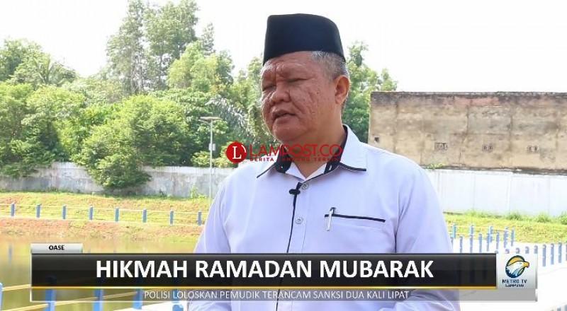 Wakil Rektor IV Unila Tekankan Pentingnya Ibadah Sosial Saat Ramadan
