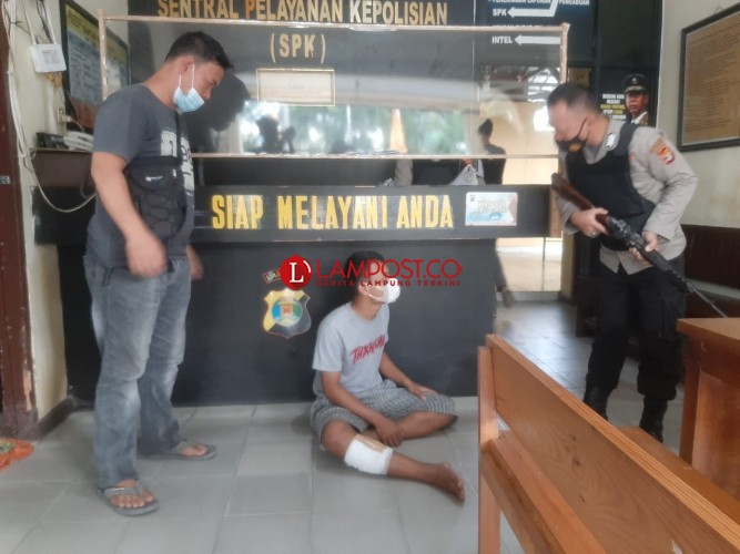 Siswa SMA Asal Jabung Curi Motor di 12 Titik Bandar Lampung