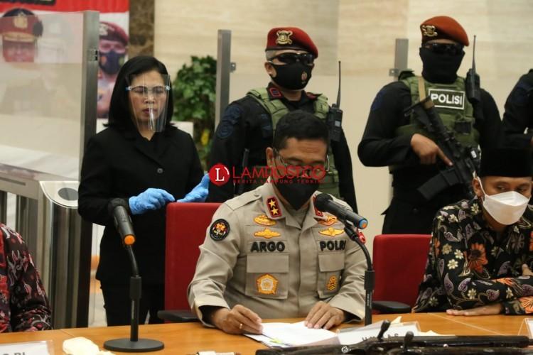 Tujuh Anggota JI Lampung Punya Posisi dan Peran Berbeda