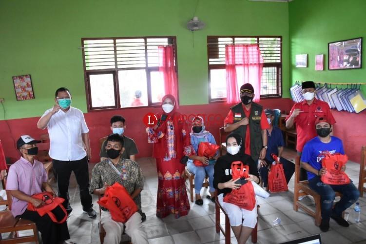 Pemkot Bandar Lampung Terima 2.000 Dosis Vaksin lewat PDI Perjuangan