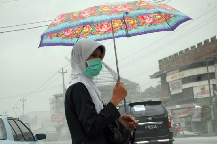 17 Desa di Magelang Diguyur Hujan Abu