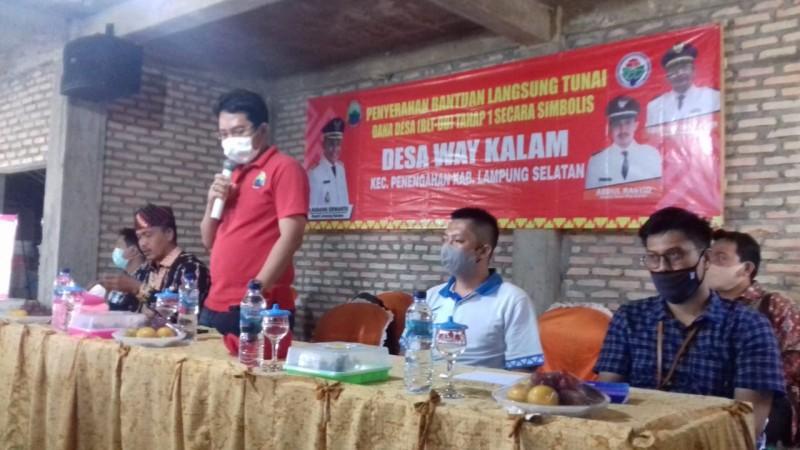 18 KPM di Waykalam dan Sumbernadi Belum Terima Dana Tunai