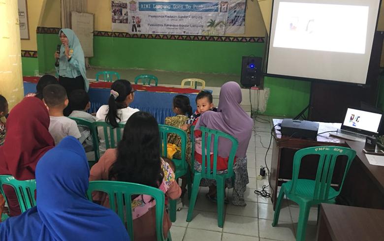 AIMI Lampung Ajak Masyarakat Paham Gizi Seimbang Untuk Anak