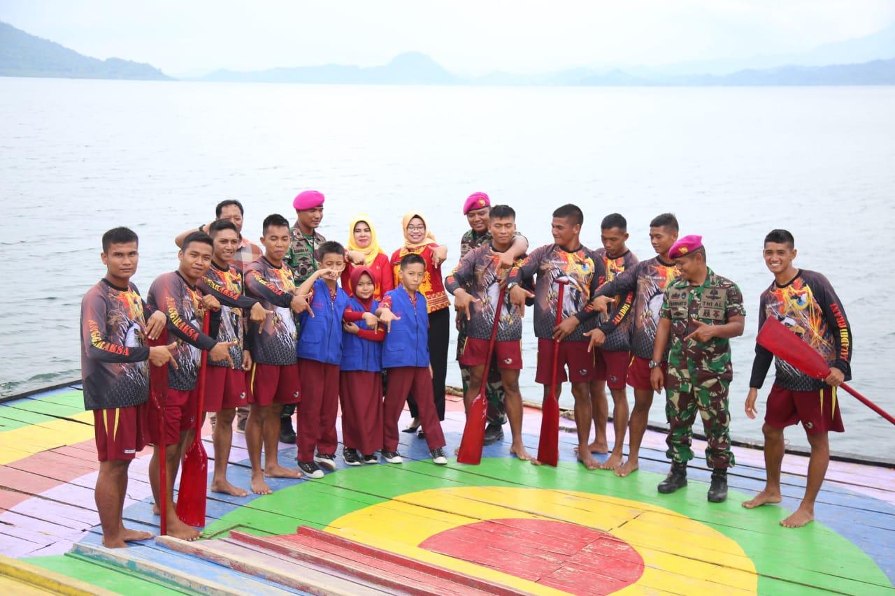 Danyonif-7 Marinir Terima Kunjungan Reporter Cilik Lampung Post