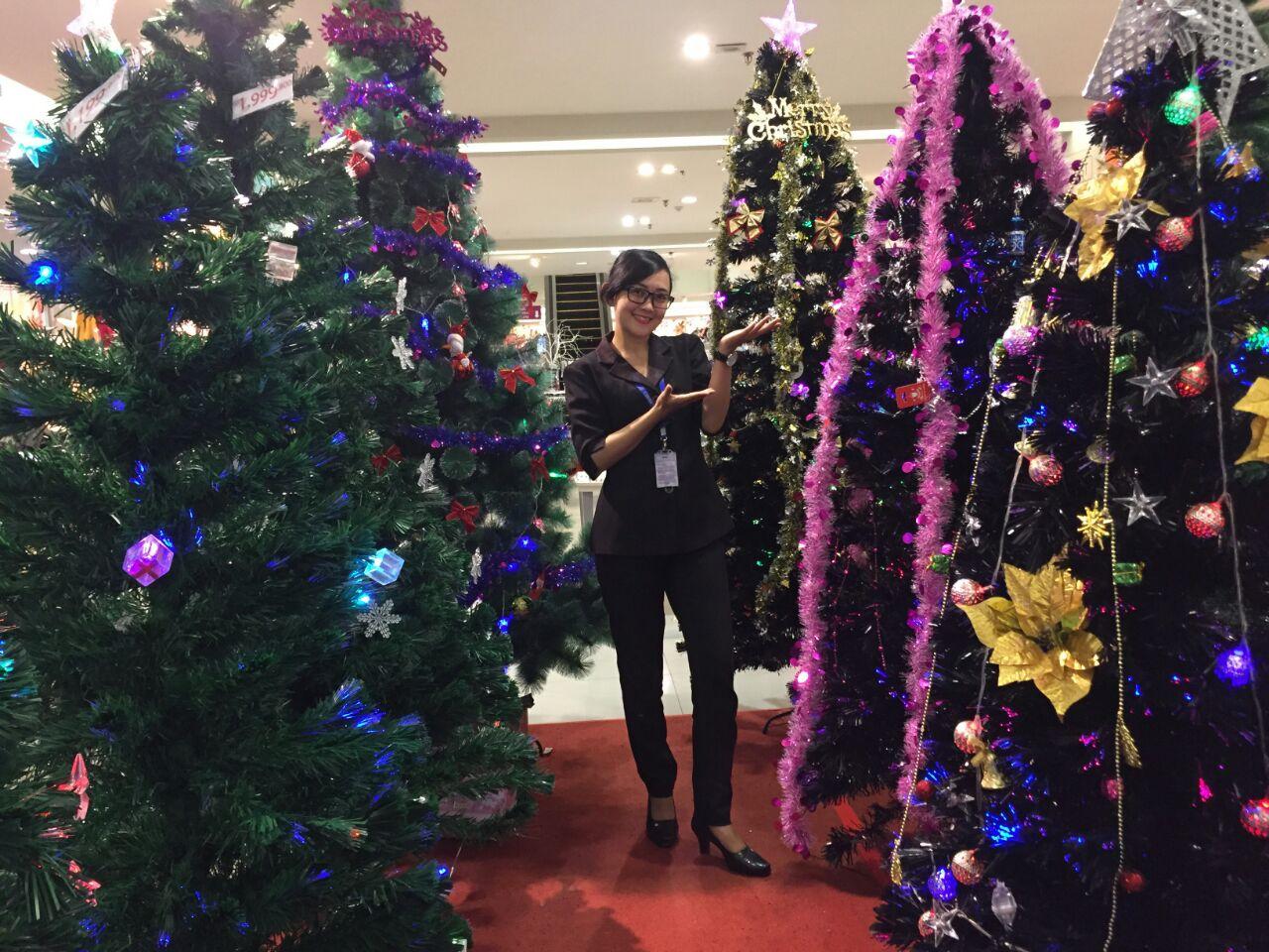 Center Point Siapkan Beragam Aksesori Natal