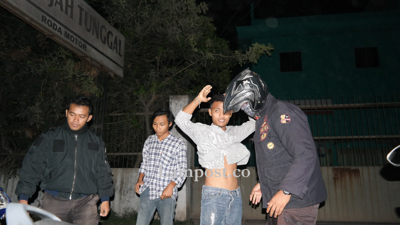 Polresta Bubarkan Balapan Liar di Jalan Laksamana Malahayati Telukbetung
