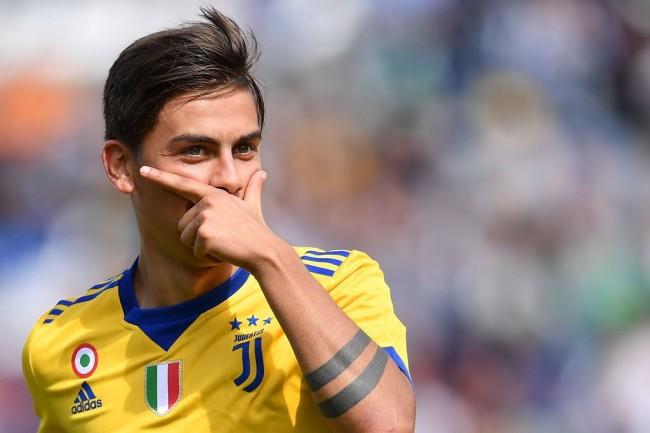 Trigol Dybala Antar Juventus Atasi Sassuolo