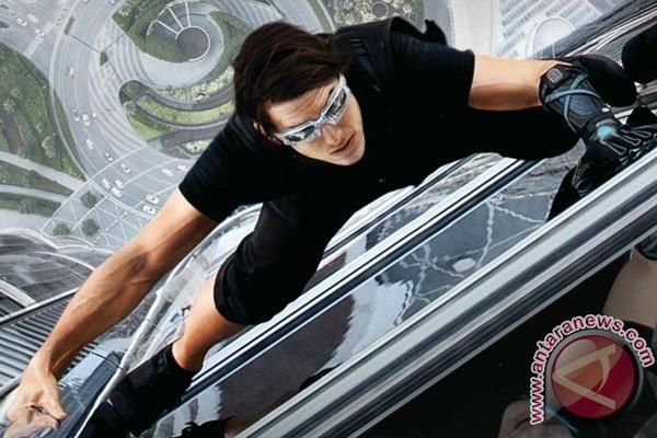 Patah Pergelangan Kaki, Syuting Film Tom Cruise Dihentikan