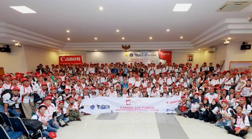Canon-TNI AU Gelar Canon Air Force PhotoMarathon 2018