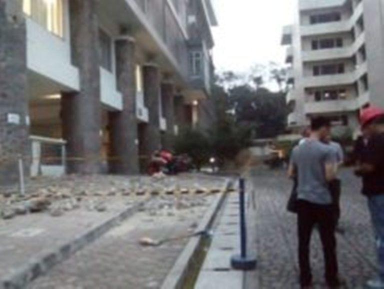 Tiang Roboh di Kampus ITB, Enam Mahasiswa Terluka