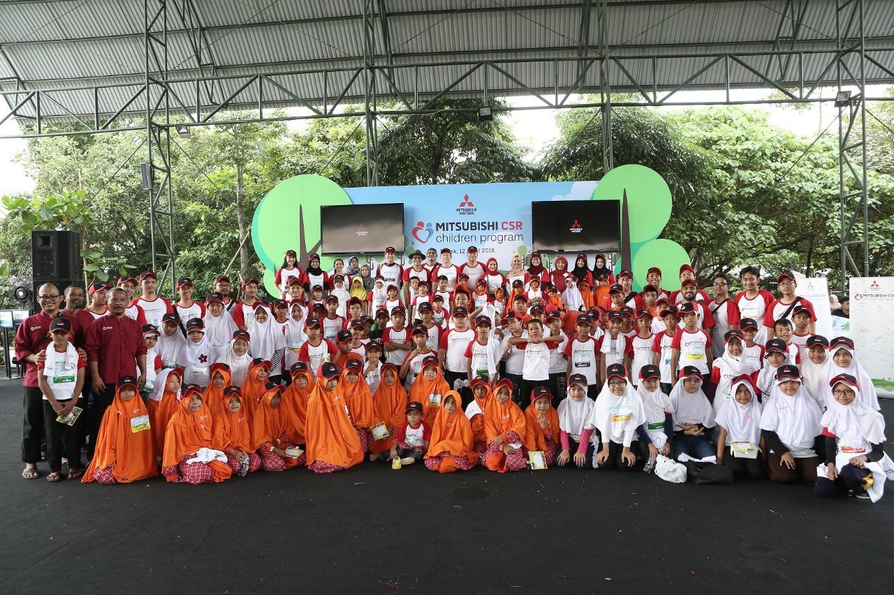Mitsubishi CSR Children Program Ajak 100 Anak Panti Asuhan
