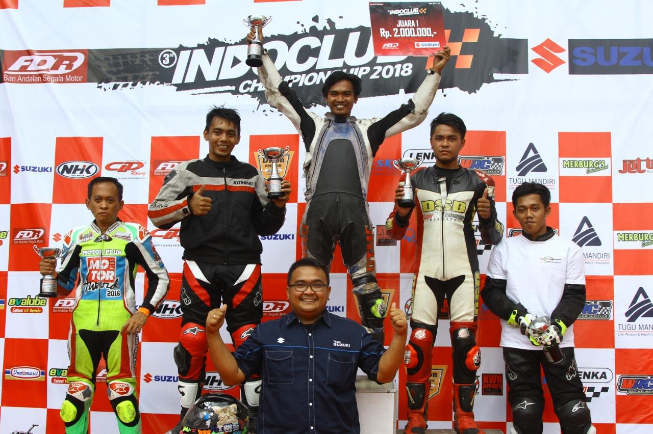 Tim Balap Jurnalis Raih Podium Indoclub Championship 2018