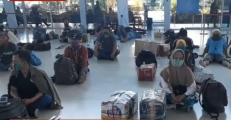 2.074 Pemudik Lolos Pemeriksaan di Pelabuhan Merak Masuk Lampung