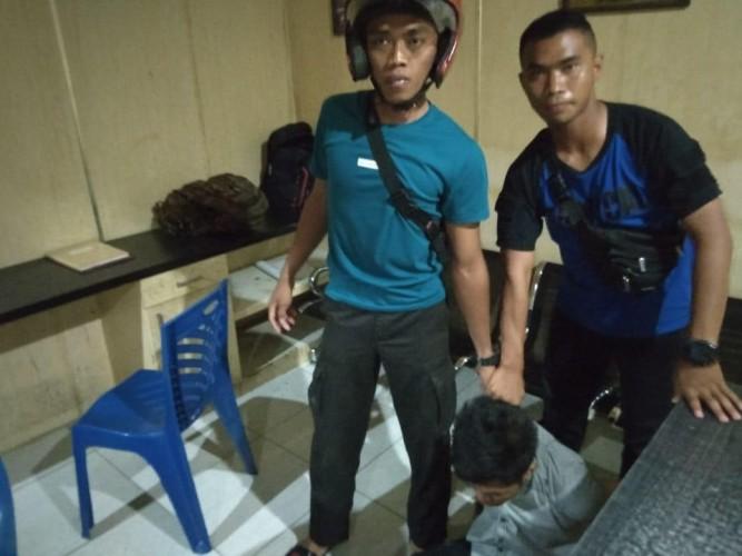2 Anggota Sabhara Tangkap Pencuri Motor di RS A Dadi Tjokrodipo