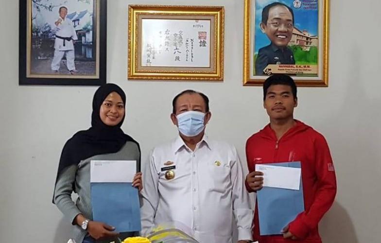 2 Karateka Lampung Dipanggil PB Forki ke Pelatnas