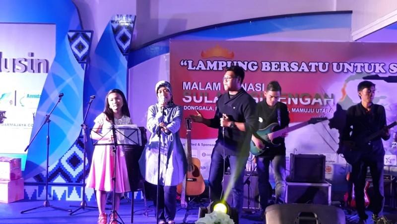 2 Lagu dari Nunik Sumbangkan Rp50 Juta untuk Sulawesi Tengah