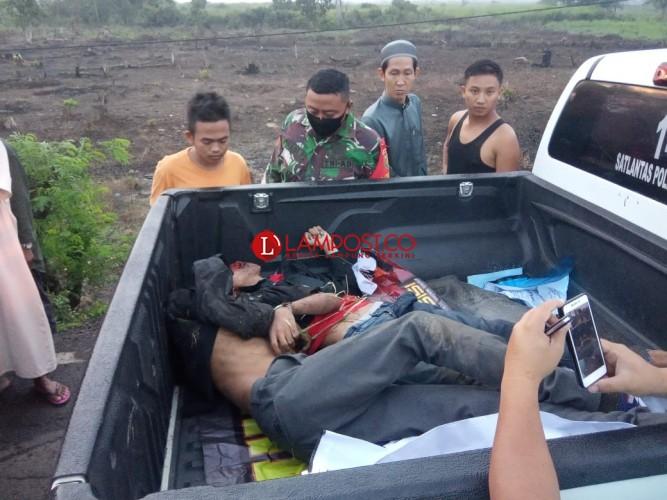 2 Pria Ditemukan Tewas di Jalintim Diduga Korban Kecelakaan