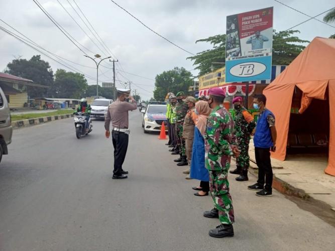 20.840 Kendaraan Luar Lampung Disetop Selama Posko Penyekatan