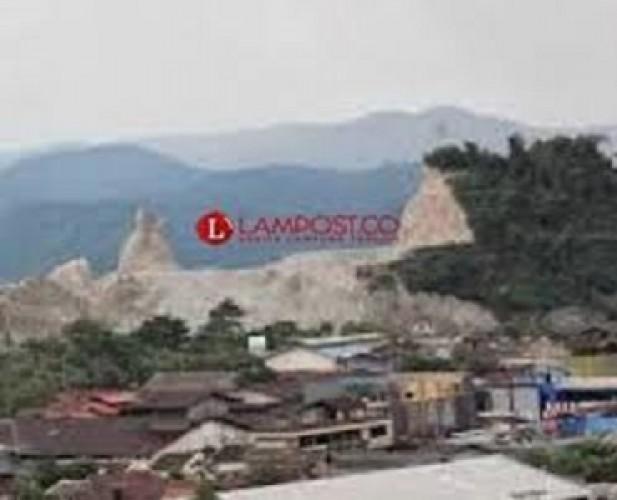 20 Perbukitan dan Gunung di Bandar Lampung Beralih Fungsi