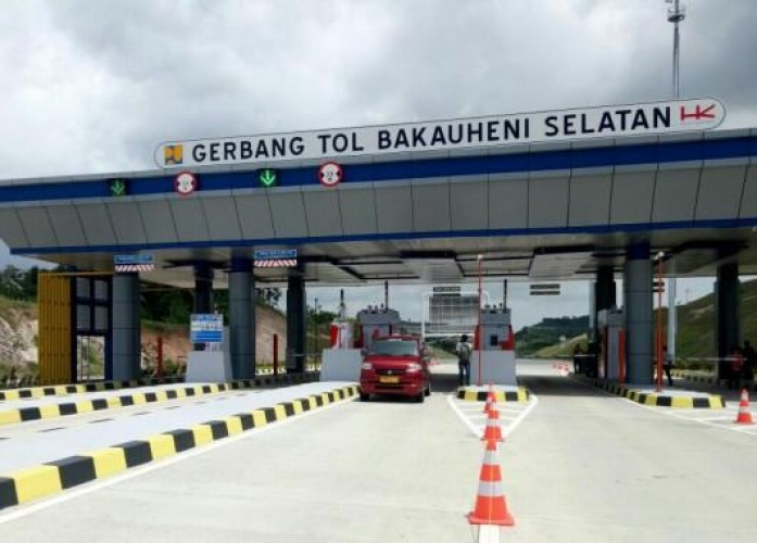 21.768 Kendaraan dari Pulau Jawa Masuk Tol Lampung di Musim Libur Panjang