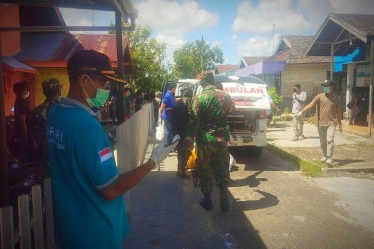 21 Warga Satu Gang di Kalteng Terkonfirmasi Positif Covid-19