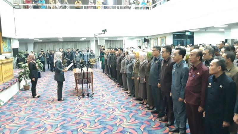 217 Pejabat Administrator Pemprov Lampung Dilantik