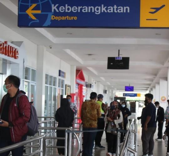 22.979 Penumpang Pesawat Keluar Masuk Lampung selama Oktober