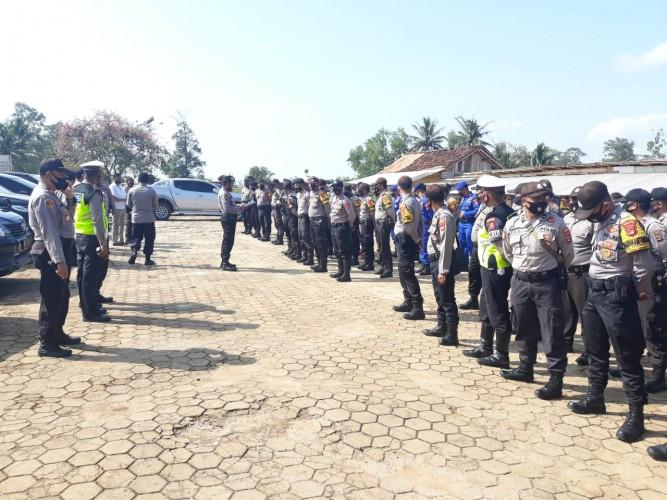 223 Personel Amankan Pengundian Nomor Urut Paslon di Lamtim