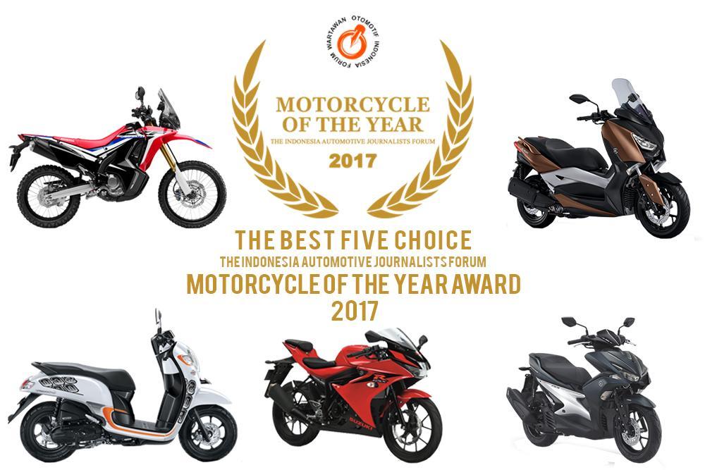 Lima Model Sepeda Motor Masuk Nominasi Forwot Motorcycle of the Year 2017