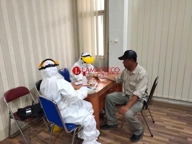 24 Anggota DPRD Kota Metro Jalani Rapid Test