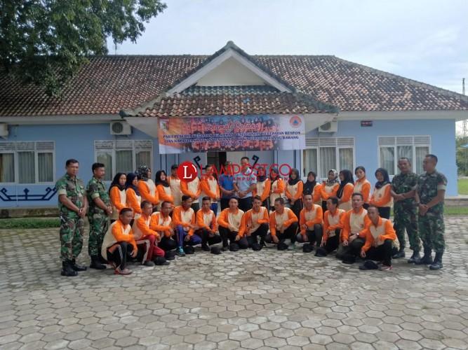 24 Personel BPBD Tuba Ikut Simulasi Penanganan Bencana